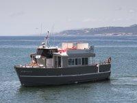 Godersi la Jacuzzi in barca