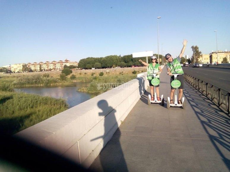 Foto en el puente