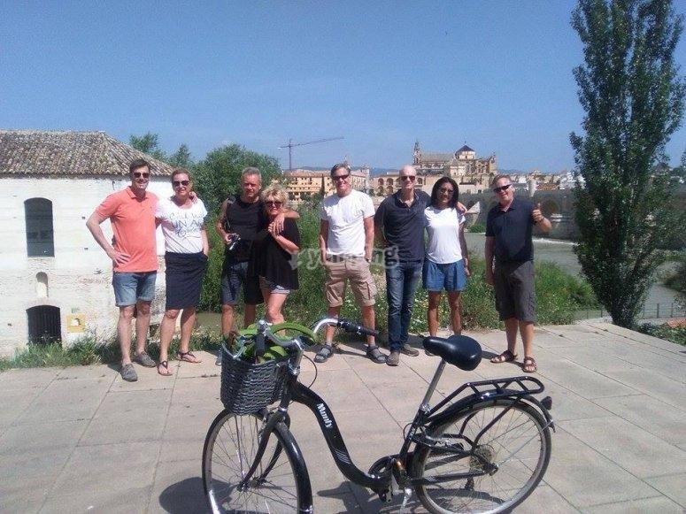 en bicicleta por Córdoba