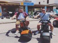 En las scooter eléctricas
