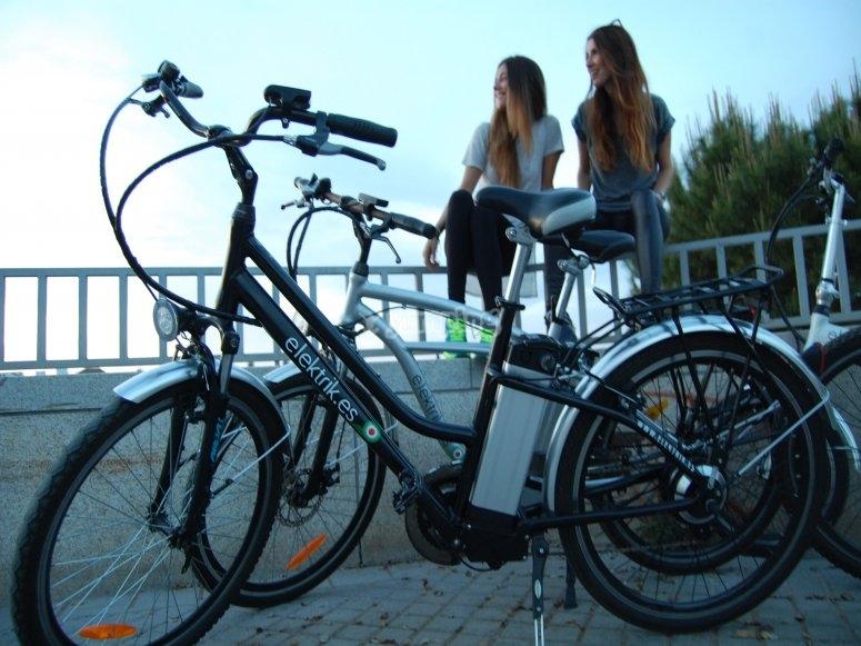 Electric bike rental in Córdoba