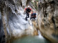 salto en montana