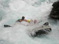 Múltiples actividades en aguas bravas