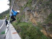Tomando impulso en el puente