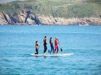 Big SUP sulla spiaggia di Iongara