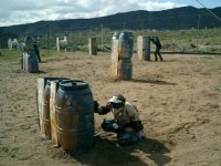 Paintball in full nature