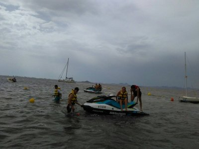 Alquiler moto de agua GTI 90cv en Mar Menor 2 días