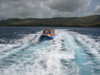 Paseo en la banana boat
