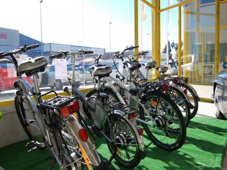 Disponibilidad de bicis para alquilar