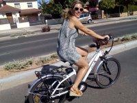 Paseando en bici por Córdoba