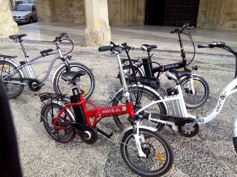 Bicis eléctricas portátiles
