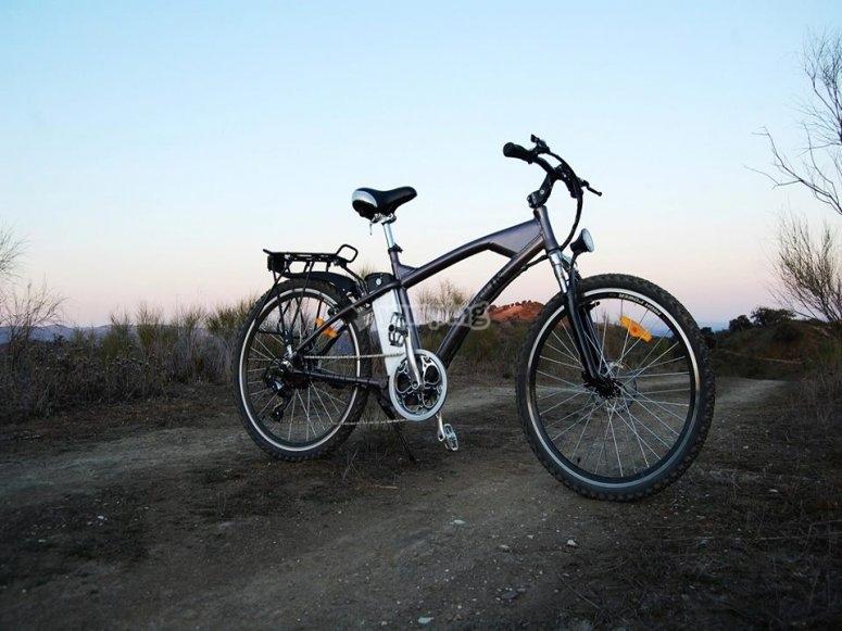 Bici eléctrica de campo