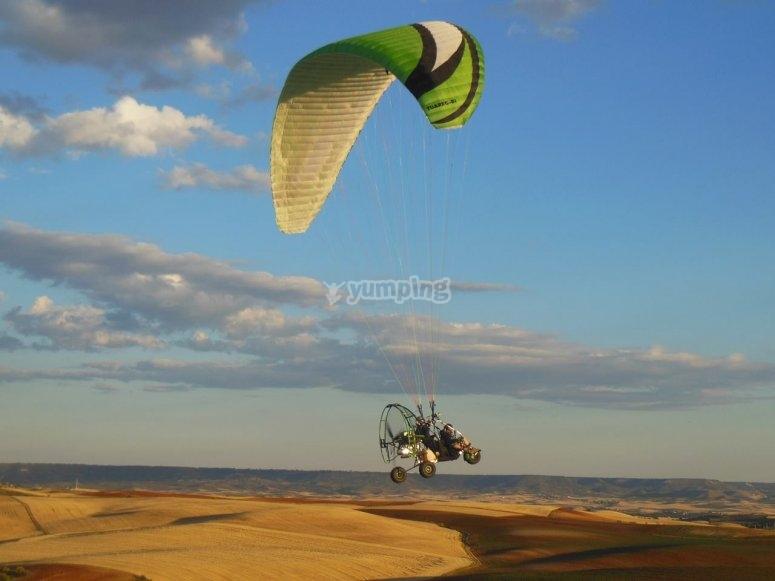 空中降落伞