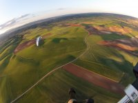 15 min paramotor acrobactics La muela