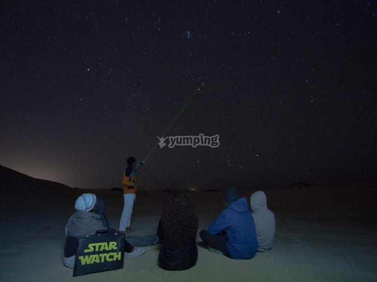 Observacion de estrellas