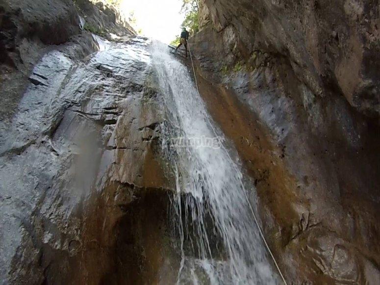 Espectacular cascada