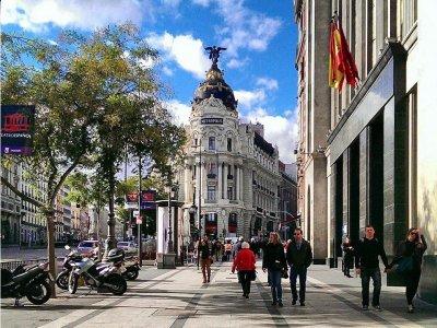 Gymkana文化中心马德里和品尝小吃