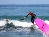 Surfeando la ola en Barreiros