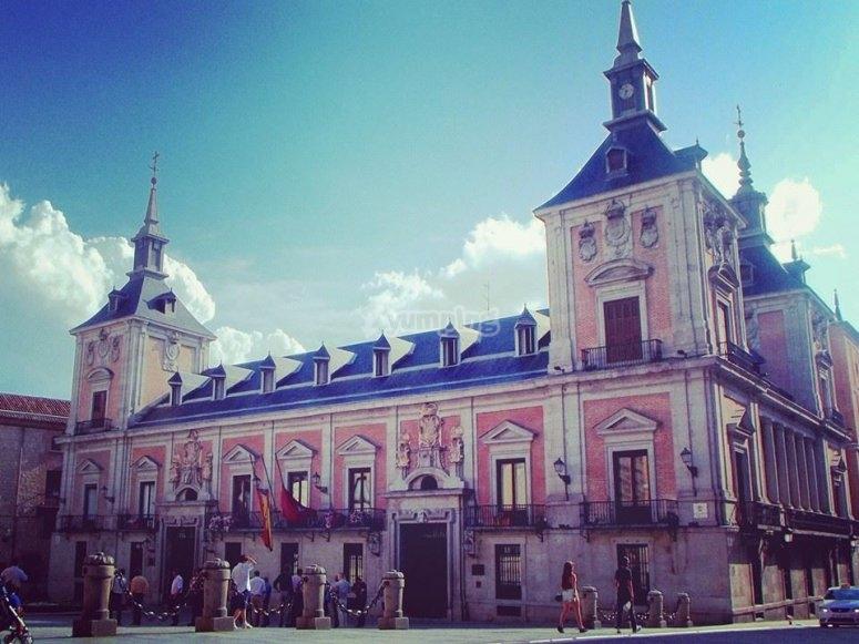 El antiguo ayuntamiento