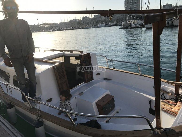 Barco menorquín en Alicante