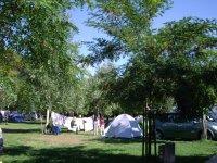 标志OSATE露营区