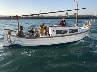 Paseo en Menorquín 35 en Alicante media jornada