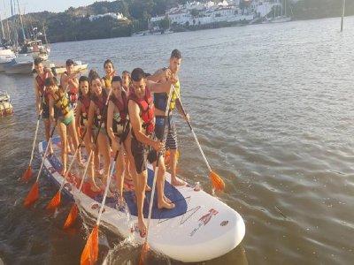 Alquiler tabla de paddle surf XL en el Guadiana 1h