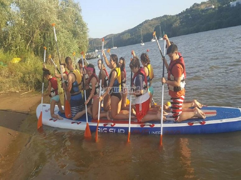 Paddle surf XL en el Guadiana