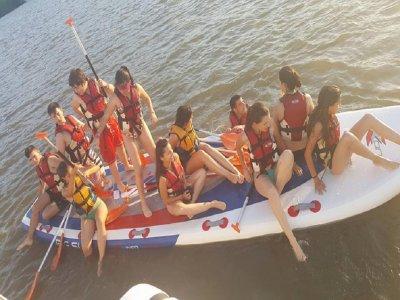 Alquiler de paddle surf XXL en el Guadiana 2 horas