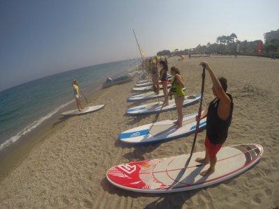 Paddle surf de La Herradura a Maro con fotos 1h