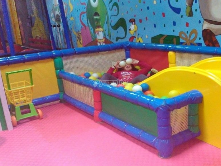 Zona de juegos para bebes