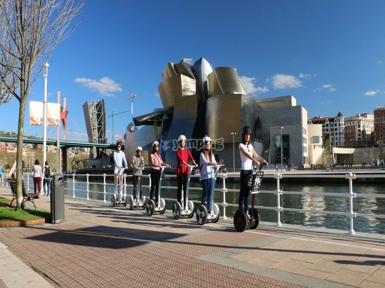 Tour en segway por Bilbao