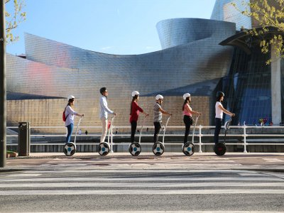 Segway route in Bilbao, 30 minutes