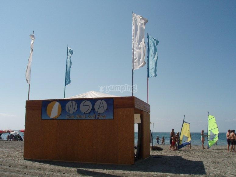 La nostra capanna sulla spiaggia