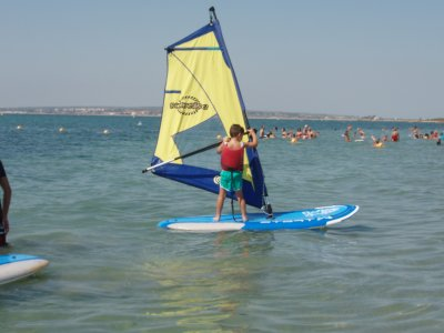 Windsurf course for beginners in Santa Pola 12 h