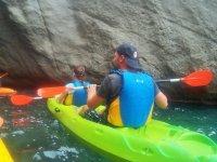 Alquiler de kayak biplaza en Almería, 1h