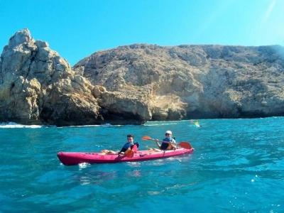 Ruta guiada en kayak por el Cabo de Gata