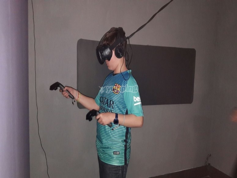 Virtual reality for children