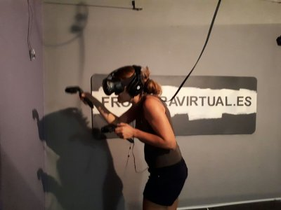 Compleanno con realtà virtuale a Barcellona 30min