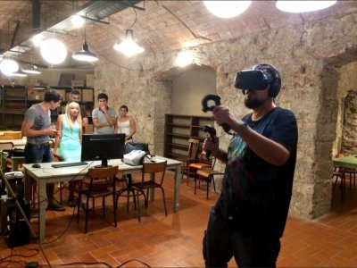 Stag party with virtual reality, Barcelona