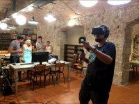 Addio con il gioco di realtà virtuale Barcellona