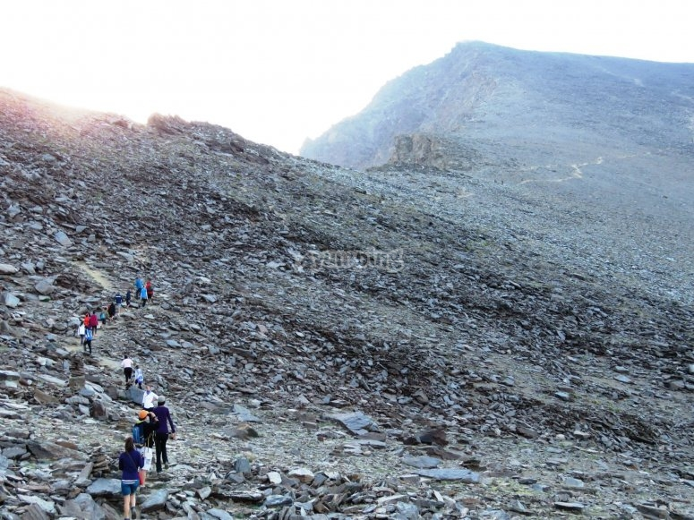 Alpinismo nel Mulhacén