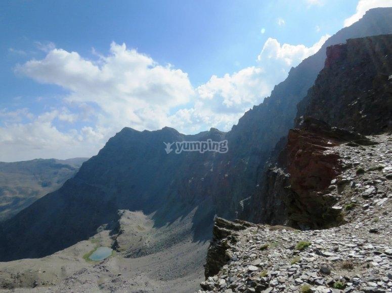 Sessione alpinistica