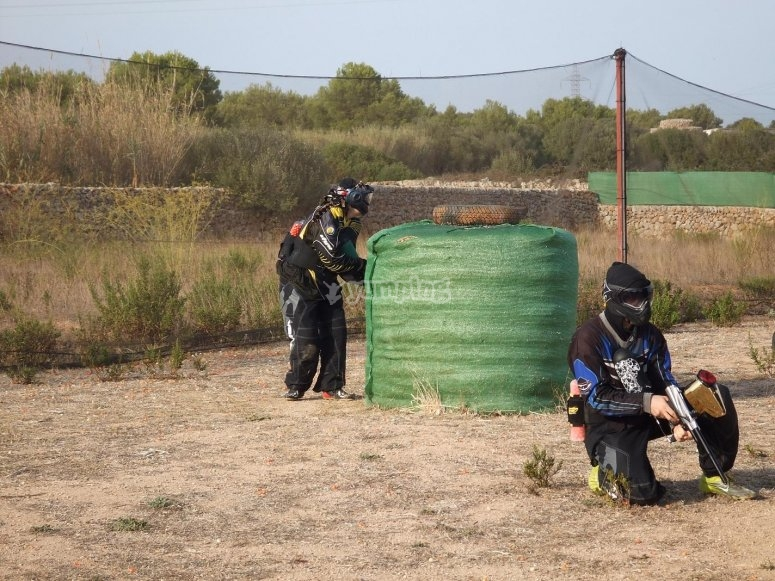 Emocionante paintball