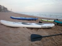 Our standup paddleboarding equipment