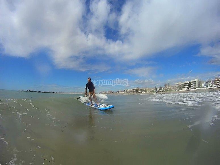 surfea olas