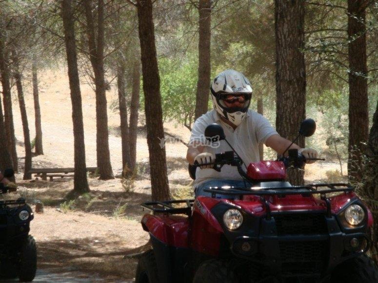A fondo el acelerador por la Serranía de Ronda
