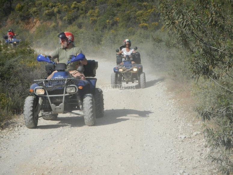 Rally marbellí en quad