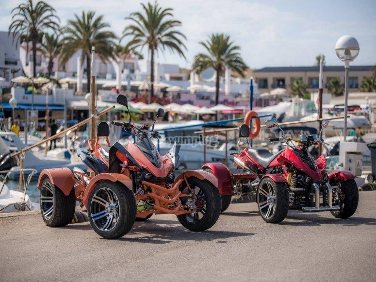 Espectaculares quads Spyder