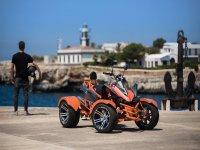 Alquiler libre de quad Spyder en Málaga 1 hora